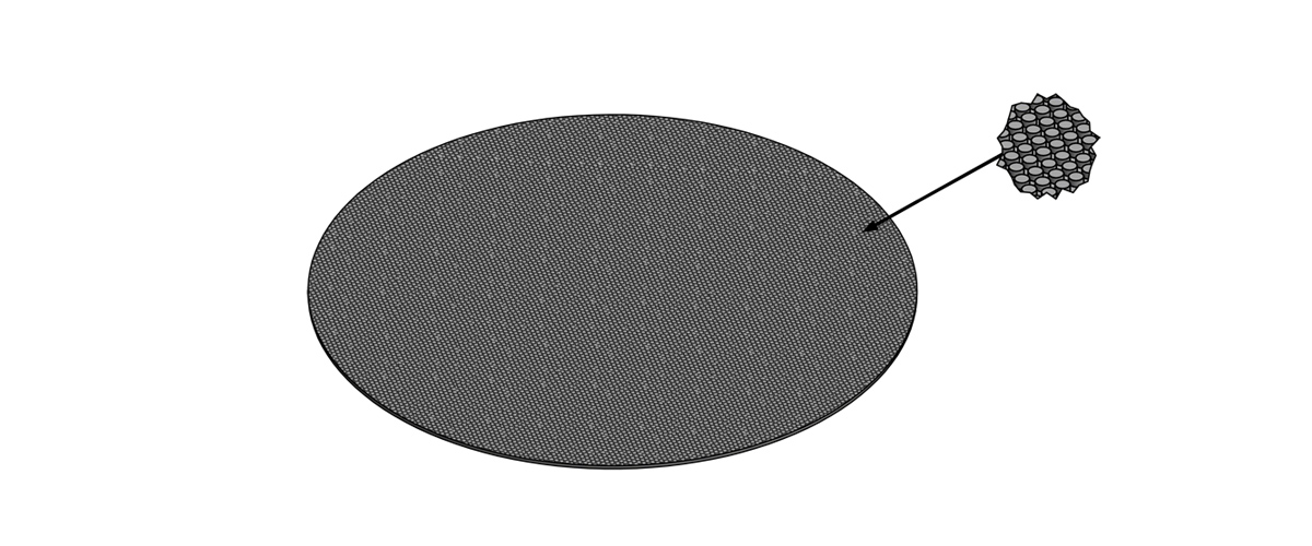 diamond disc on magnetic pad